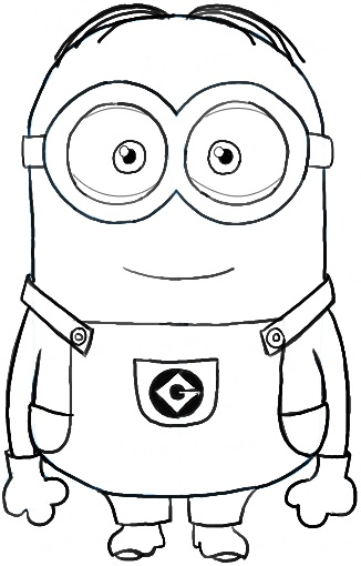 326x510 Minion Coloring Pages Free Mi Stunning Minion Coloring Pages