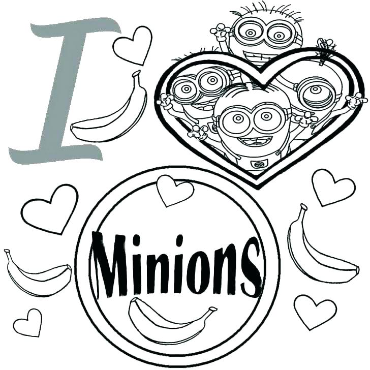 728x728 Minion Coloring Pages Minion Printable Coloring Pages Free Kids