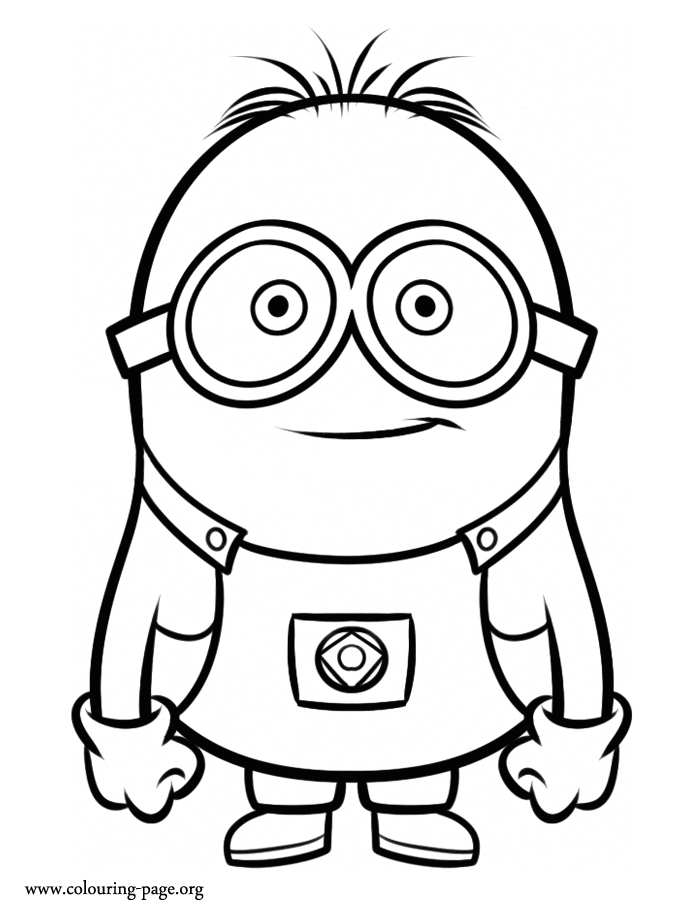 700x912 Minion Coloring Pages To Print Inspirational Despicable Me Minion