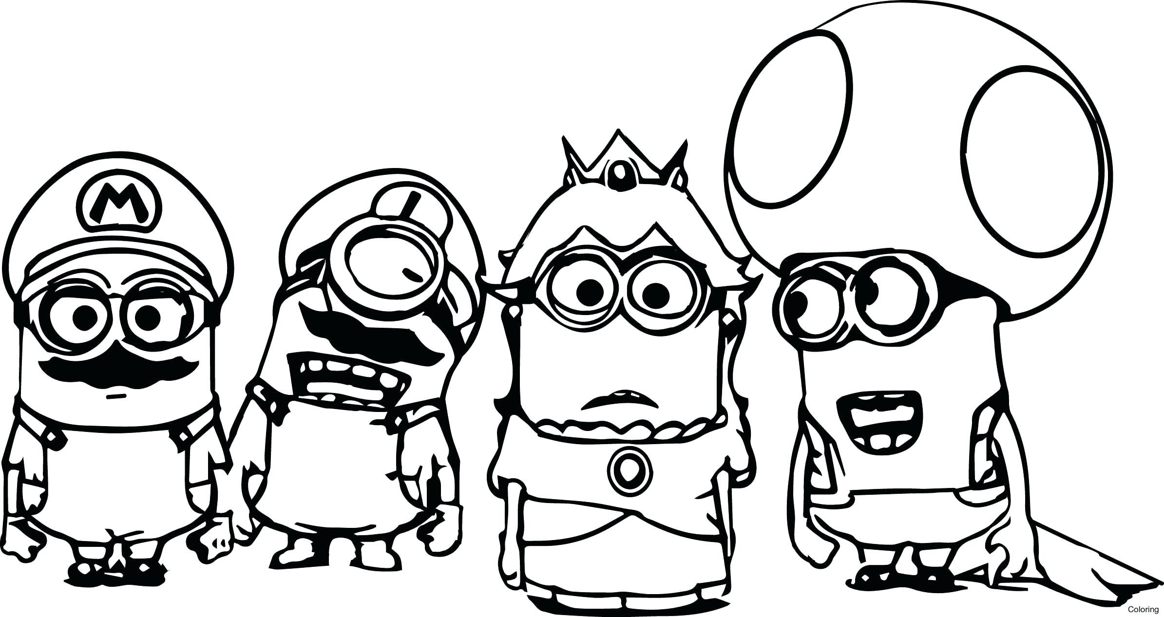 2389x1267 Free Minion Coloring Pages Best For Kids Ribsvigyapan Com