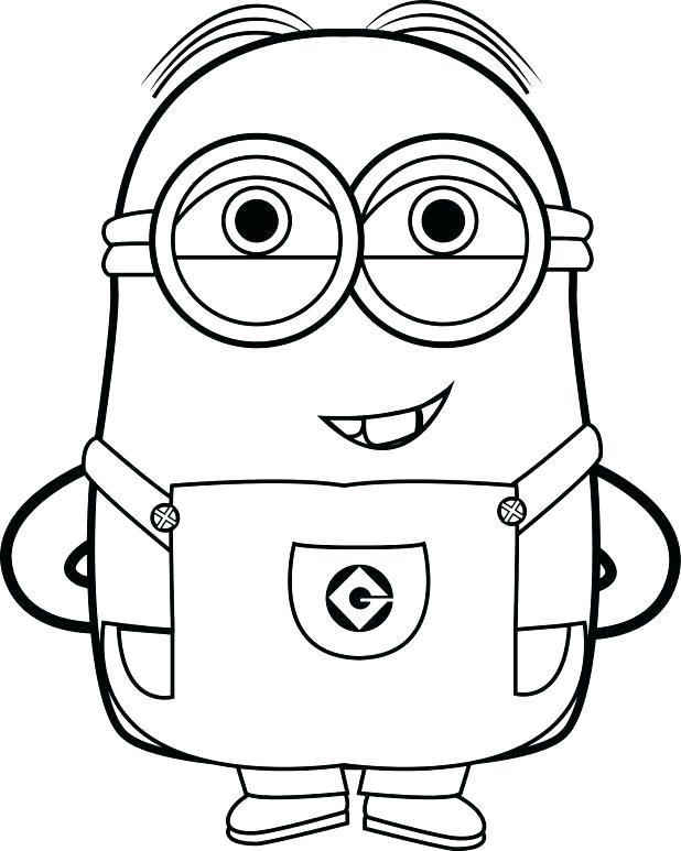 618x773 Full Size Of Print Best Minions Coloring Pages Free Images