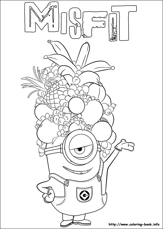 567x794 Minions Coloring Pages On Coloring