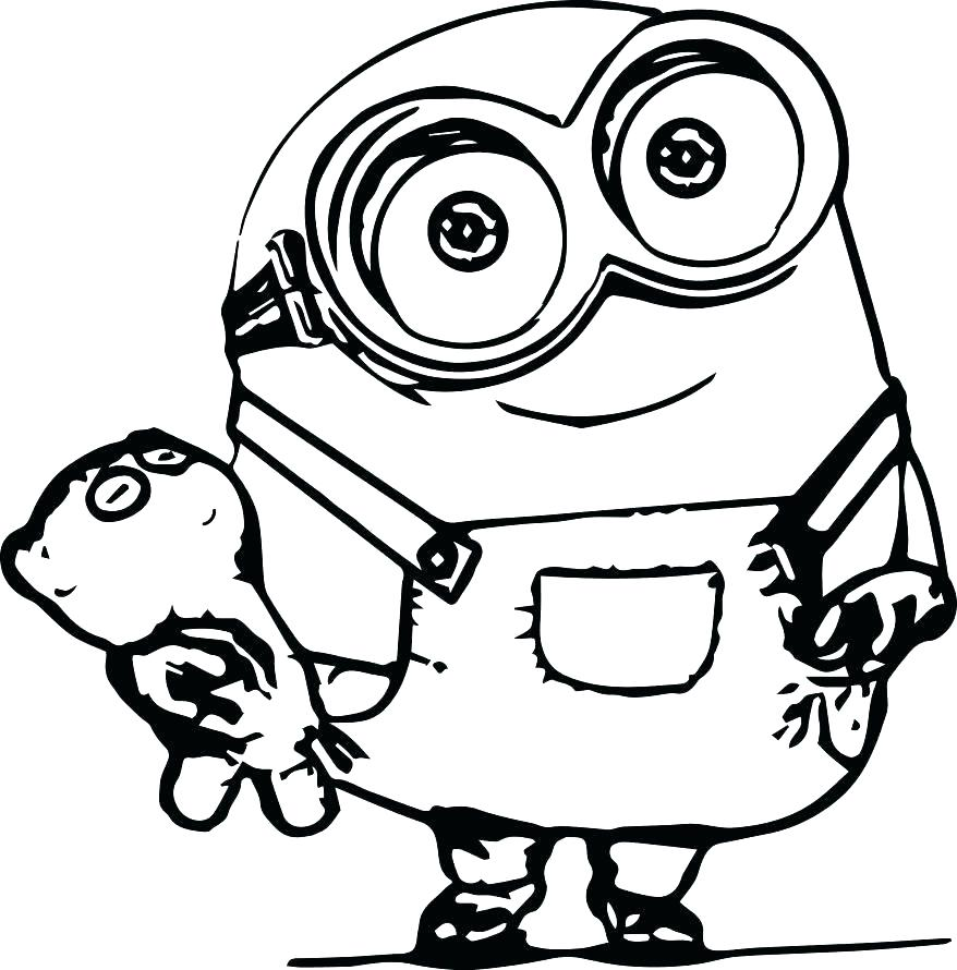 878x890 Or Minions Happy Birthday Coloring Pages Coloring Pages On Minion