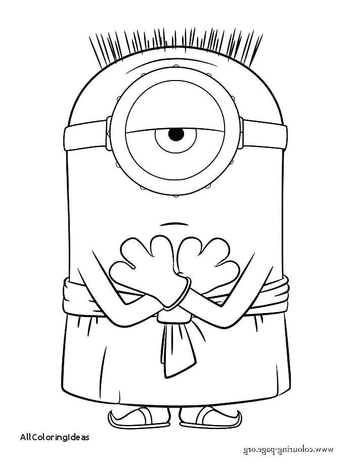 700x914 Free Minion Halloween Coloring Pages Kids Coloring Despicable Me