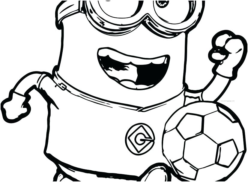827x609 Minion Colouring Pages Printable Coloring Kids As Bat Fo