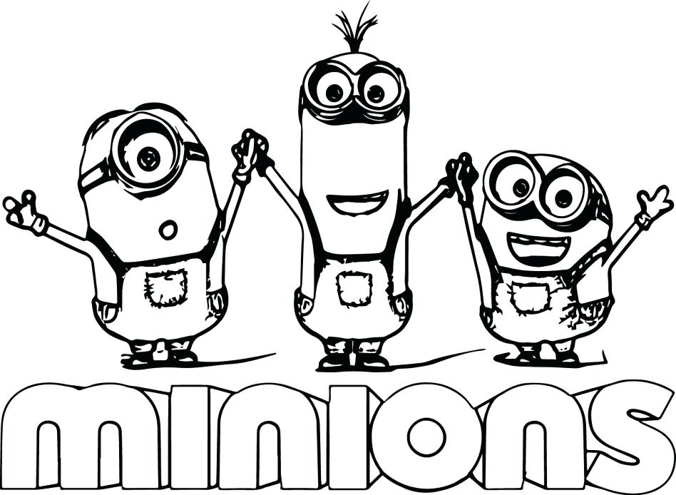 948x694 Minion Printable Coloring Pages Large Size Of Minion Printable