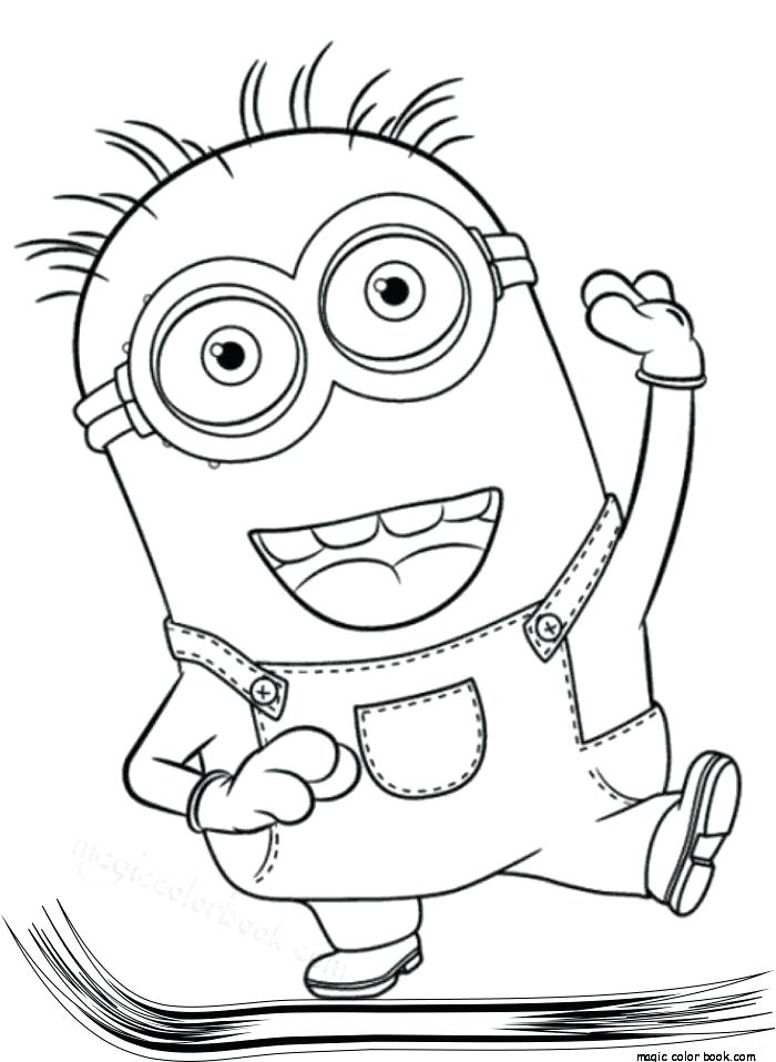 700x958 Free Minion Coloring Pages