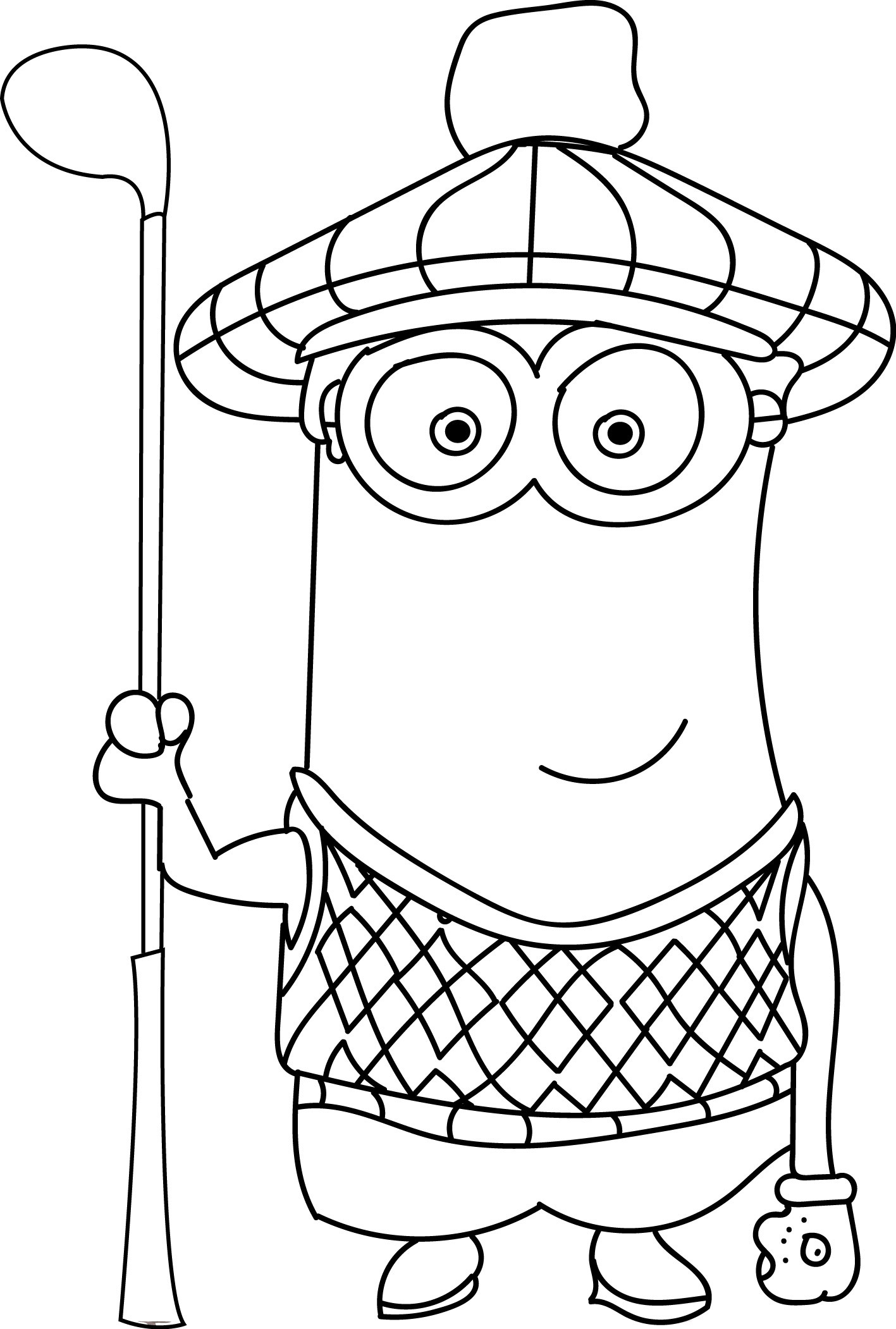1417x2102 Minion I Make The Rules Kevin Coloring Page Wecoloringpage Within