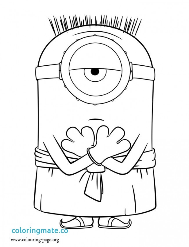 651x850 Minion Christmas Coloring Pages Luxury Printable Minion Coloring