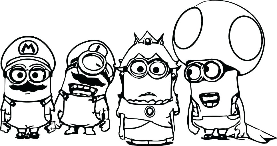 970x514 Minion Printable Valentines Kids Coloring Free Coloring Pages