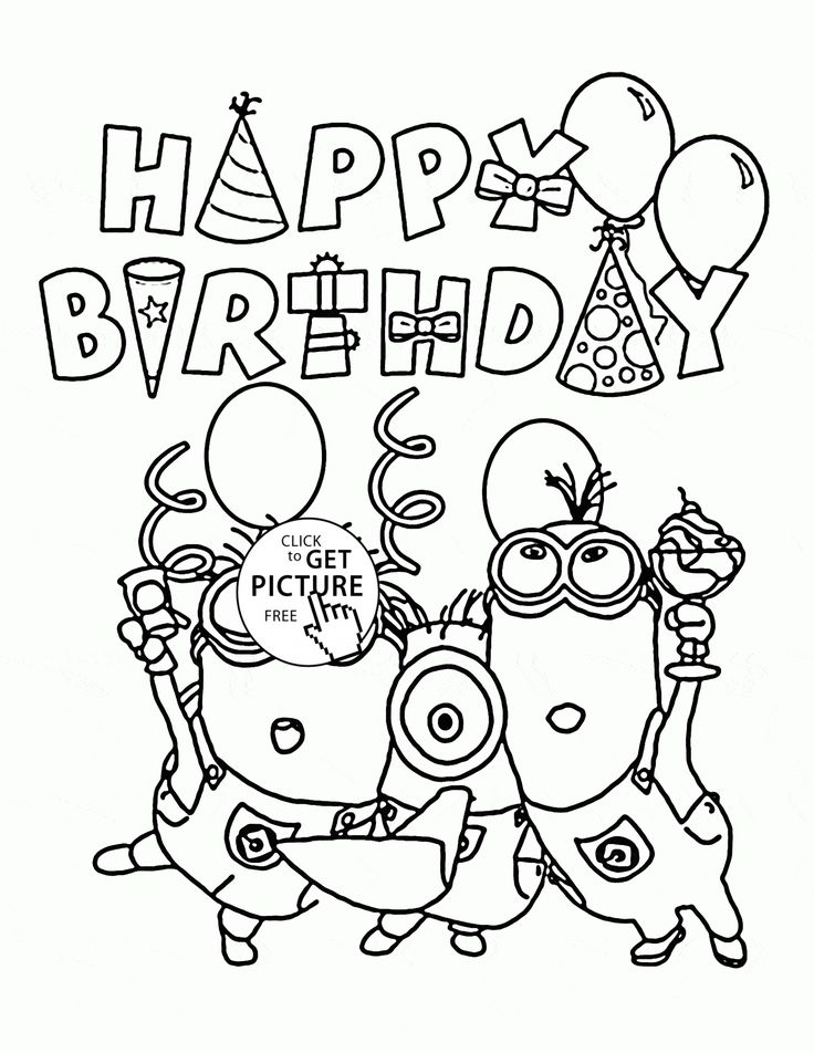 Minions Coloring Pages Banana