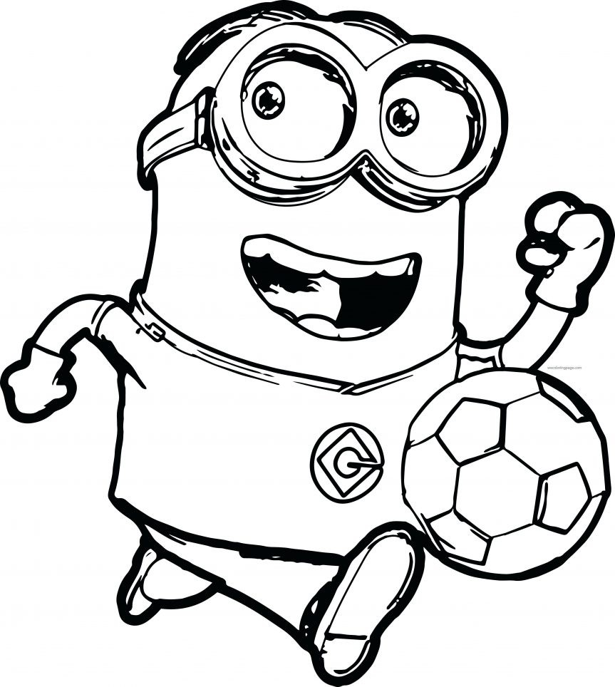 863x964 Minions Coloring Pages Birthday Best Of Download Free Minion