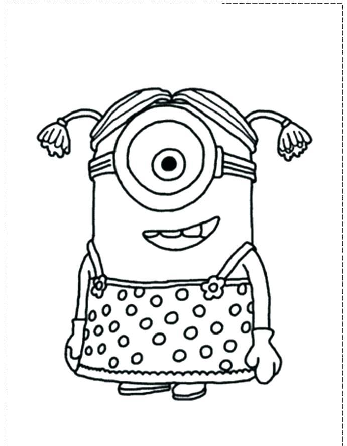 691x888 Despicable Me Coloring Pages Minion Coloring Page A Despicable Me