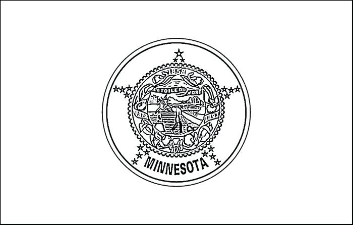 700x446 Minnesota State Flag Coloring Page Coloring Pages Frozen Halloween