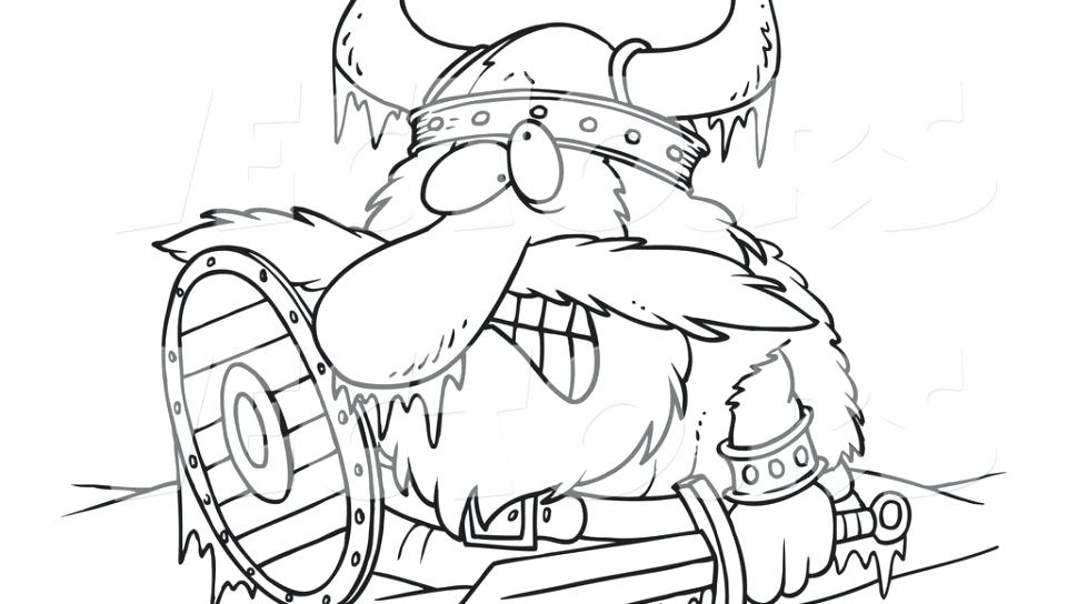 960x544 Minnesota Vikings Coloring Pages Coloring Pages Cartoon Viking