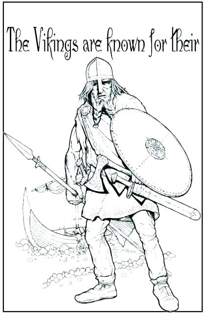 417x640 Vikings Coloring Pages Good Vikings Coloring Pages For Plants