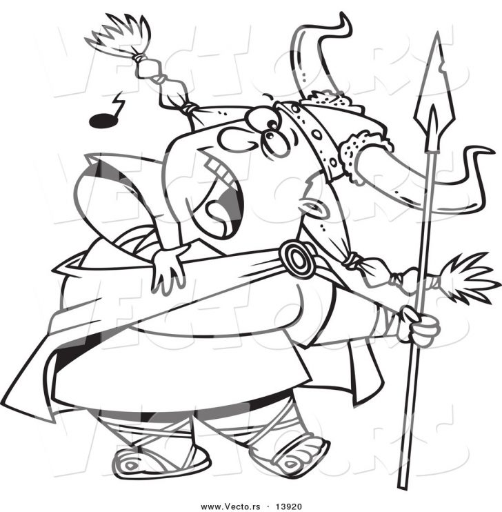 728x742 Coloring Pages Viking Warrior Free Complex Football Mn Aksfm