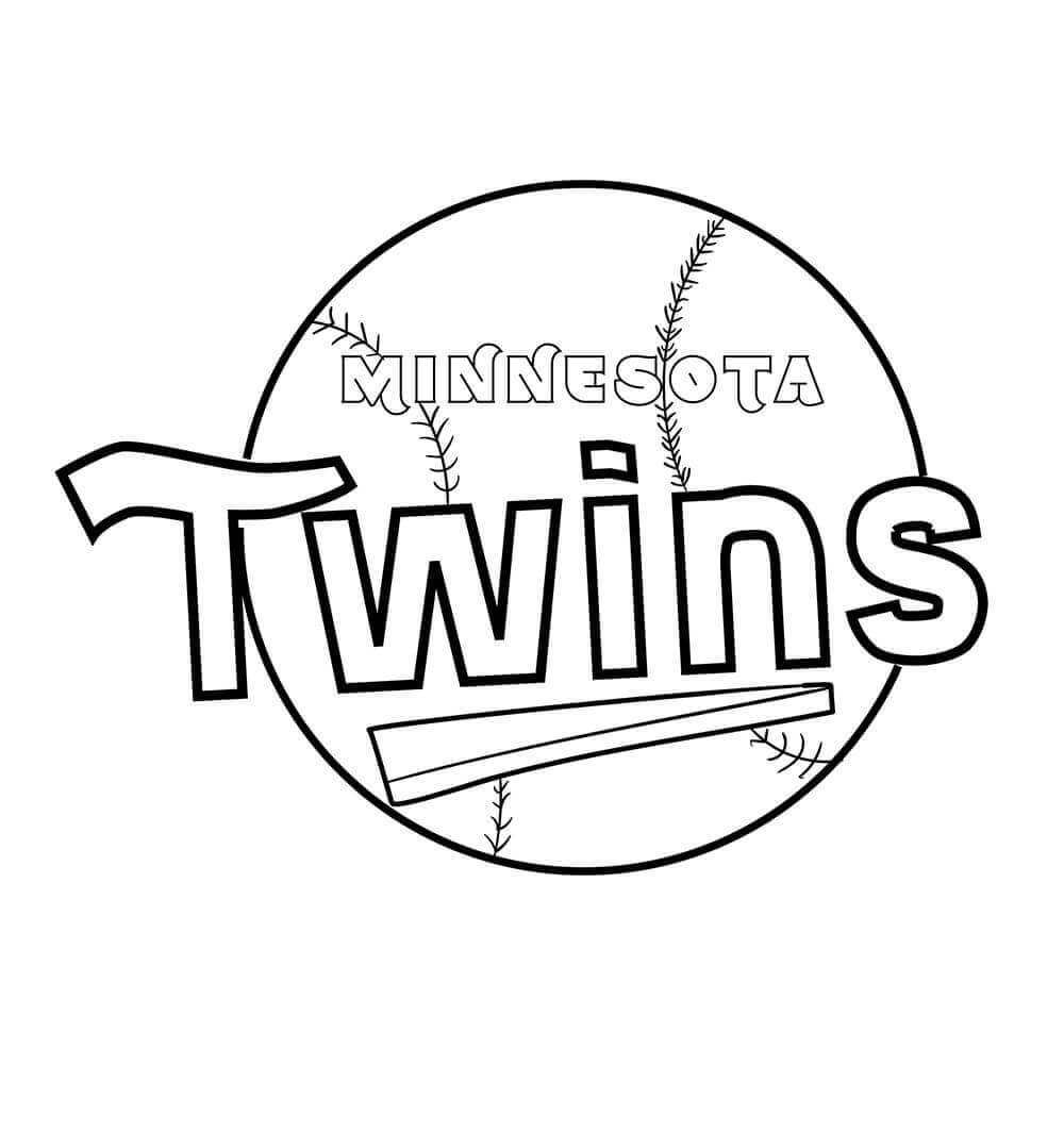 photo relating to Minnesota Twins Printable Schedule referred to as Minnesota Twins Coloring Web pages at  Absolutely free for