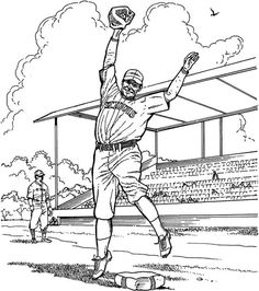 236x266 Major League Baseball Game Coloring Page Sports Coloring Pages