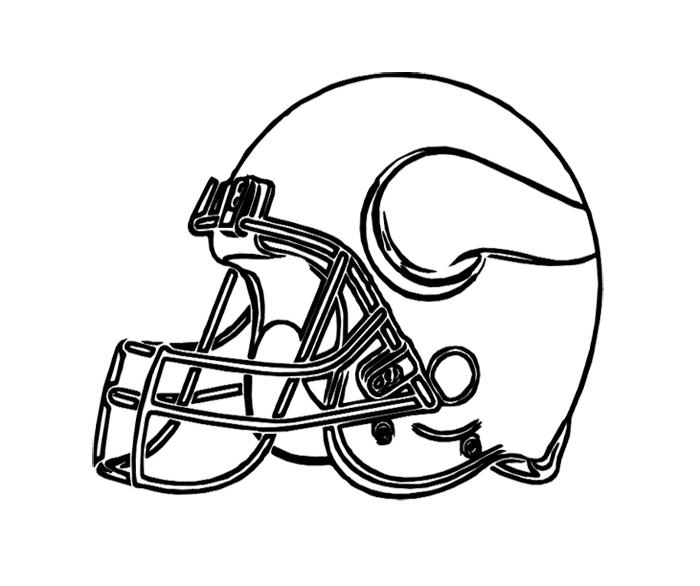 700x586 Minnesota Vikings Coloring Sheets