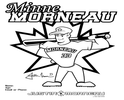 400x322 Minnesota Twins Coloring Pages