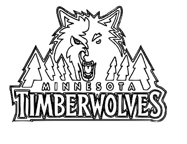 650x502 Minnesota Wild Coloring Pages