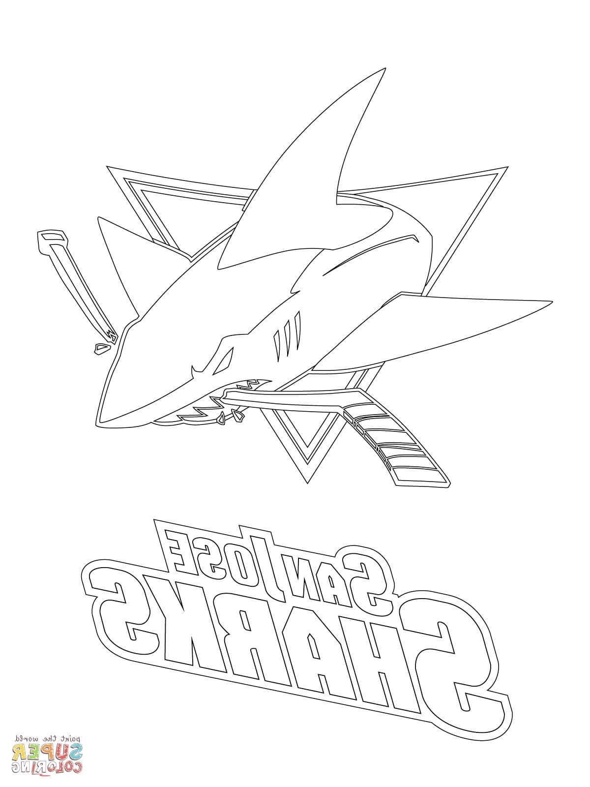 1200x1600 Sharks Hockey Coloring Pages Minnesota Wild Coloring Pages