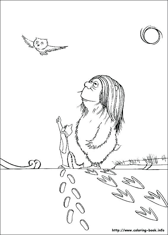 567x794 Where The Wild Things Are Coloring Page Where The Wild Things Are