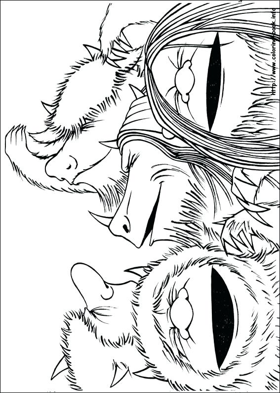 567x794 Where The Wild Things Are Coloring Pages Where The Wild Things Are