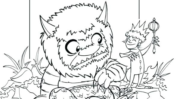 585x329 Where The Wild Things Are Coloring Where The Wild Things Are