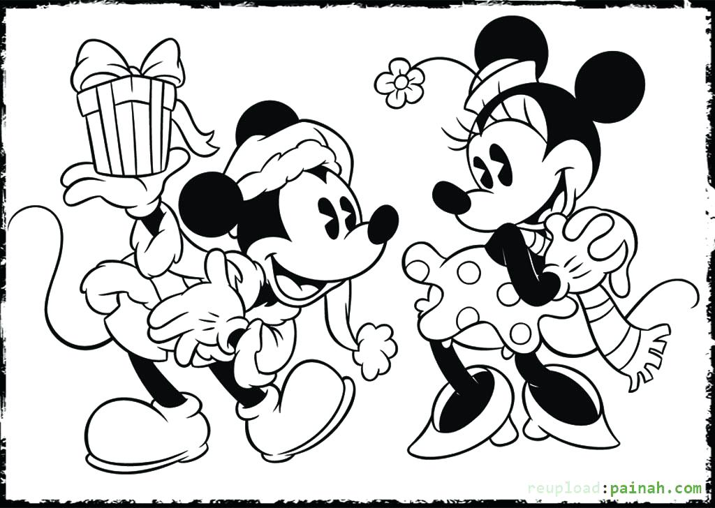 1024x728 Top Mickey Minnie Mouse Coloring Pages Free Coloring Page