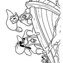 220x220 Princesses Minnie Mouse And Daisy Duck Coloring Pages