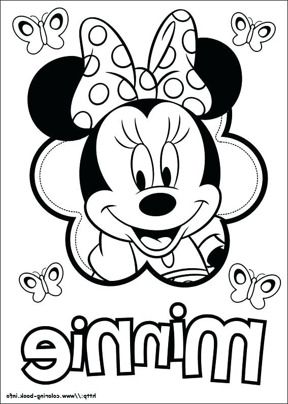 567x794 Mickey Mouse Coloring Pages Pdf Fresh Minnie Mouse Bow Drawing