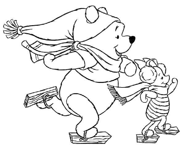 600x489 Kids N Coloring Pages Of Christmas Disney