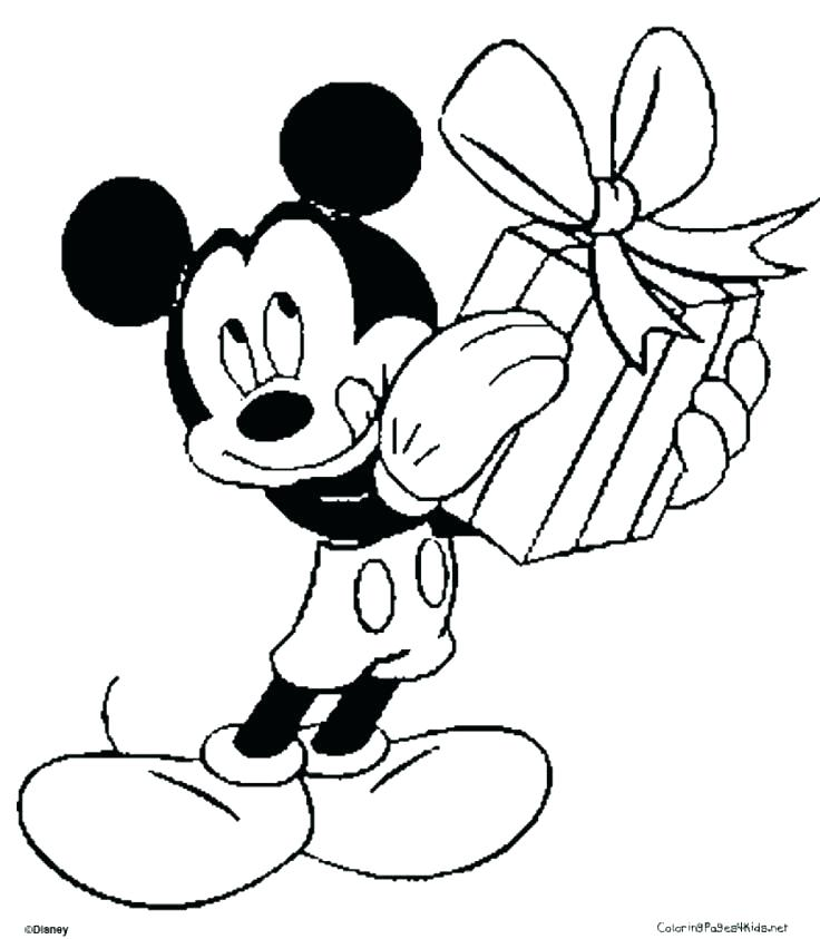 736x843 Minnie Mouse Coloring Book Pdf Printable Coloring Mickey Mouse