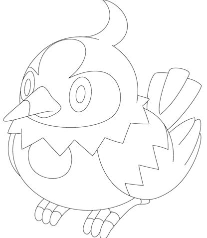 415x477 Minun And Plusle Pokemon Coloring Page