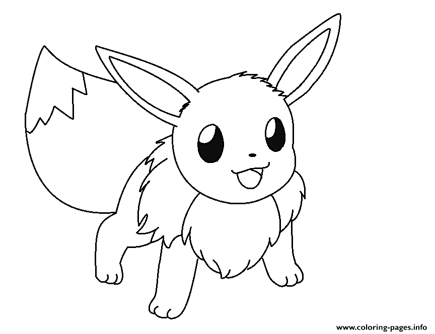 864x664 Is Ready And Eevee Coloring Pages To Print