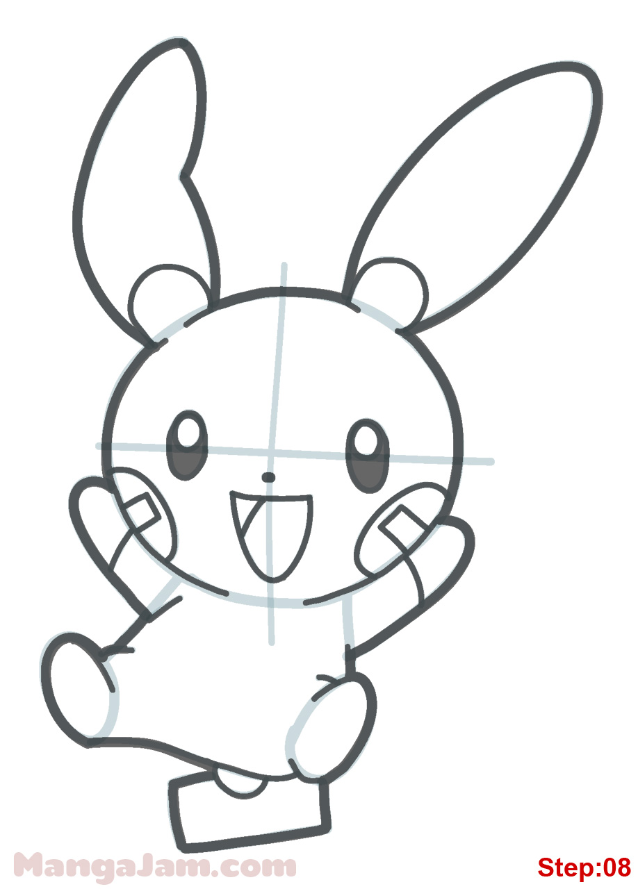 918x1280 How To Draw Minum From Pokemon