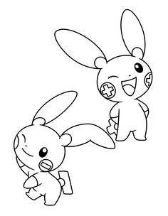 236x304 Pokemon Advanced Coloring Pages Color Pokemon Pikachu Pichu