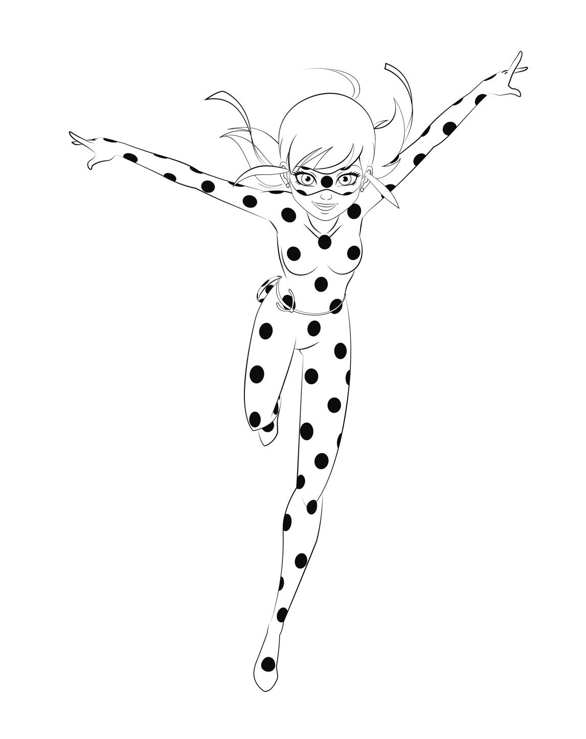 Miraculous Coloring Pages At Getdrawings Free Download