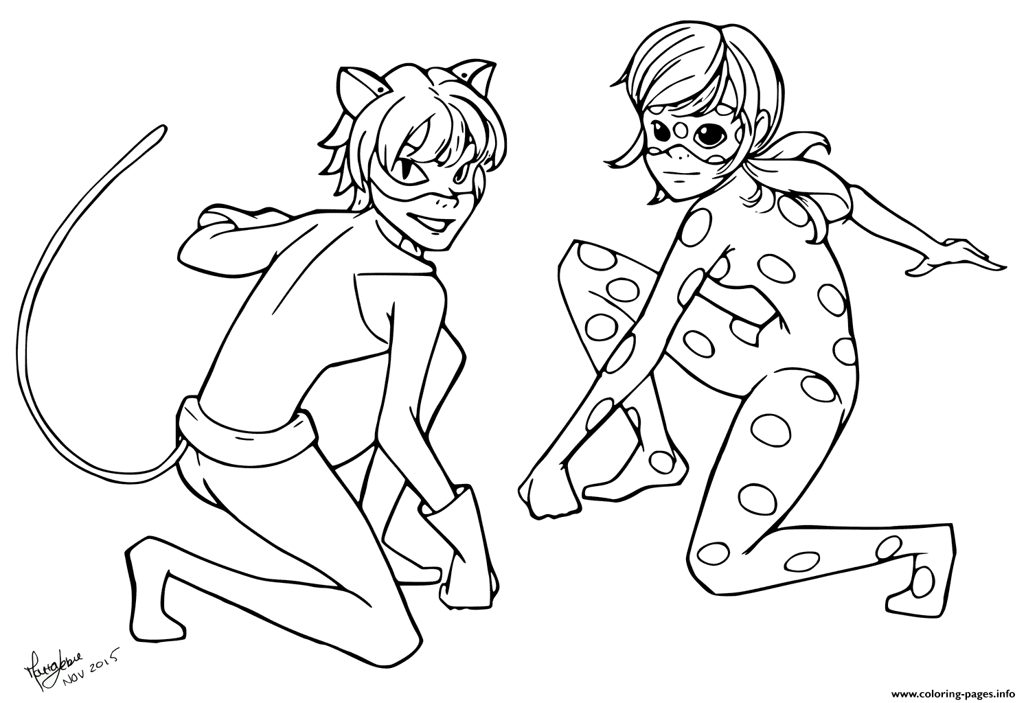 Miraculous Ladybug Coloring Pages at GetDrawings | Free ...