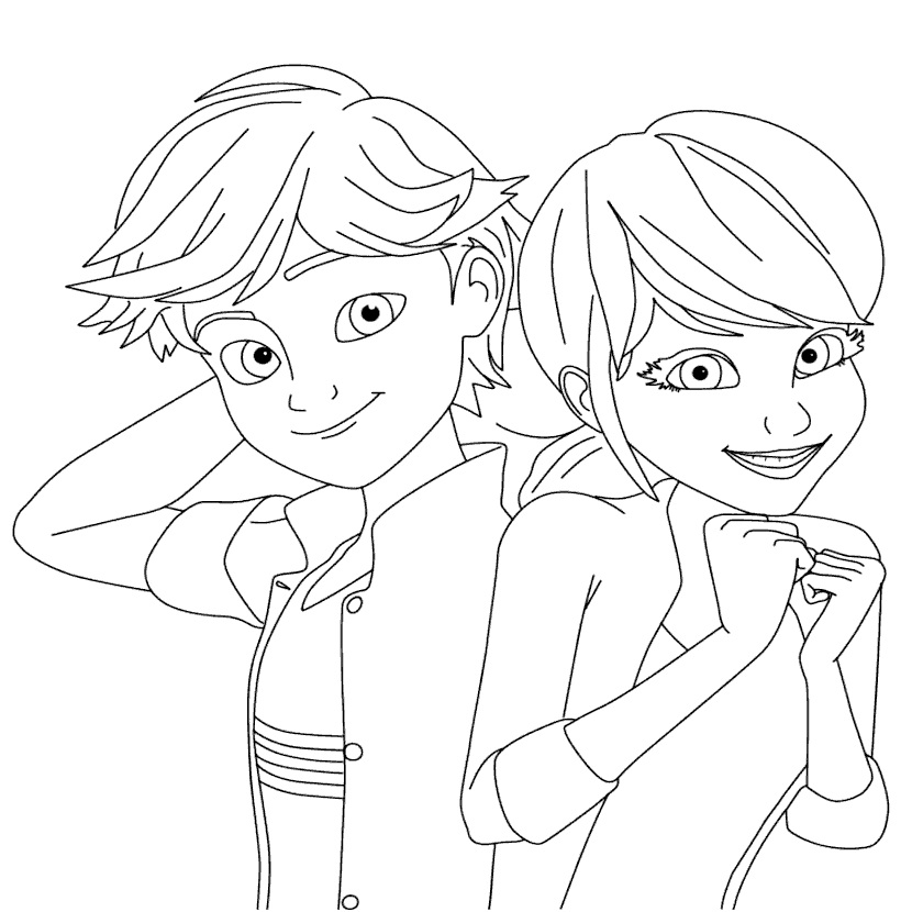 Miraculous Ladybug Coloring Pages at GetDrawings