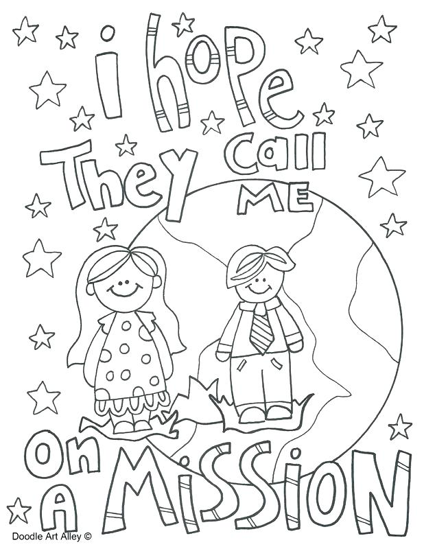 618x800 General Conference Coloring Pages Missionary Work Religious