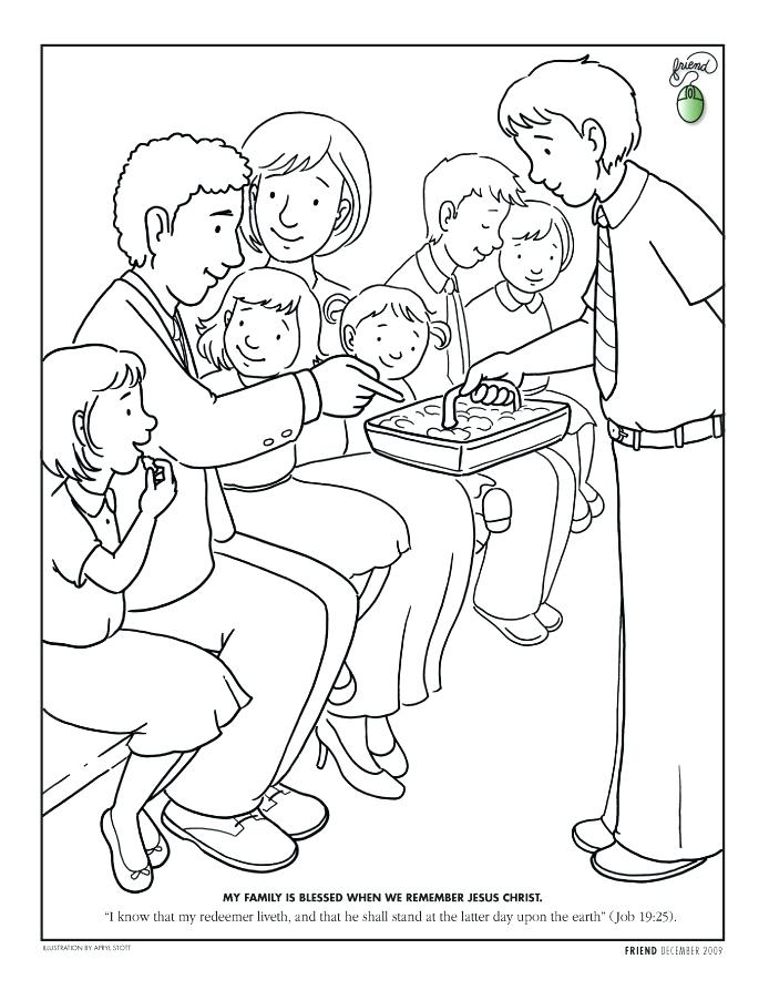 694x902 Missionary Coloring Pages Free To Color For Primary Children Paul