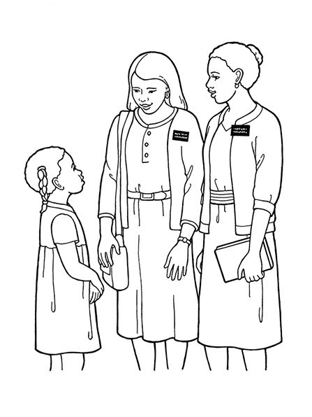 447x596 Best Lds Children's Coloring Pages Images On Lds