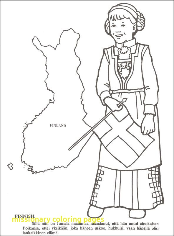 591x800 Missionary Coloring Pages With Missionaries Coloring Book Details
