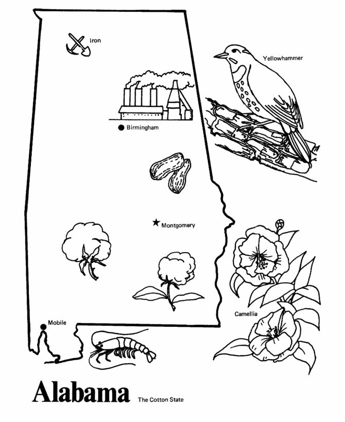 670x820 Best Mississippi Coloring Pages Images
