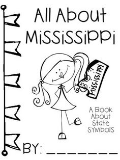 236x314 Mississippi State Symbol Coloring Page