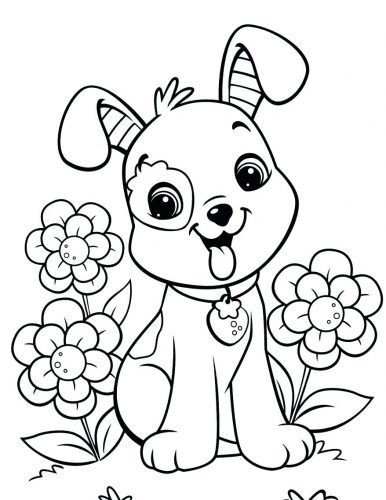 386x500 Coloring Pages Bulldog Coloring Pages French Printable