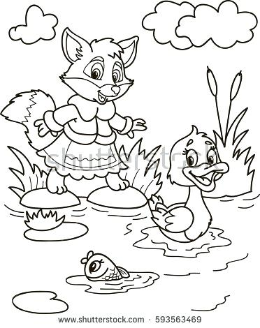 372x470 Coloring Page Of Mississippi River Nature Printable Pages Drawing